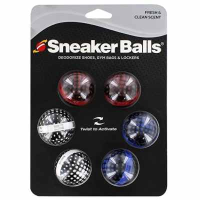 Sof Sole Sneaker Balls Gym Bag and Locker Deodorizer Stocking Stuffers for Men