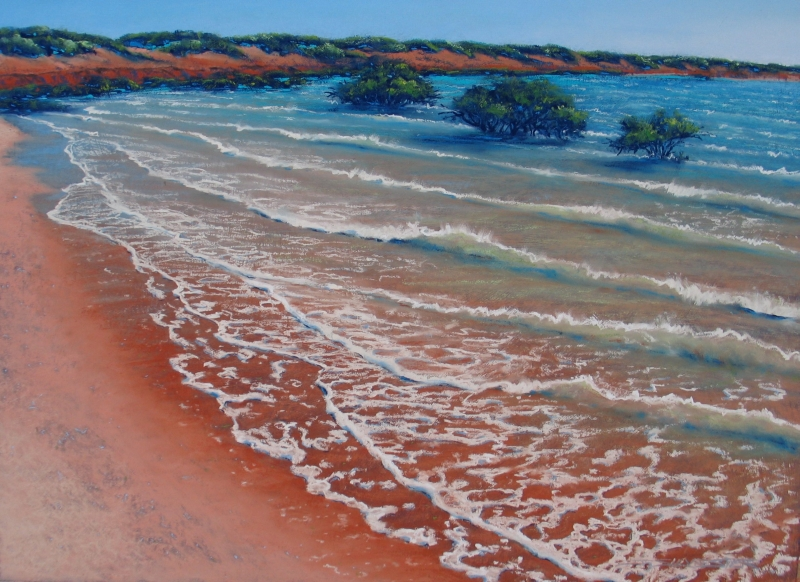 As the Tide Comes In - 87 x 108