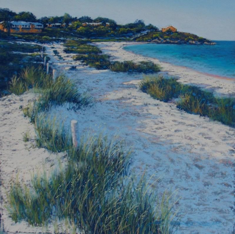 Julie Silvester - Summer Memories Rottnest - 72 x 72cm