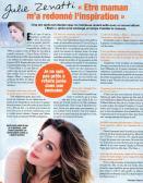 """Article dans """"Ciné Télé Revue"""" : Etre maman m'a redonné l'inspiration"""