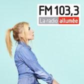 Logo de la radio allumée 103.3 (Québec)