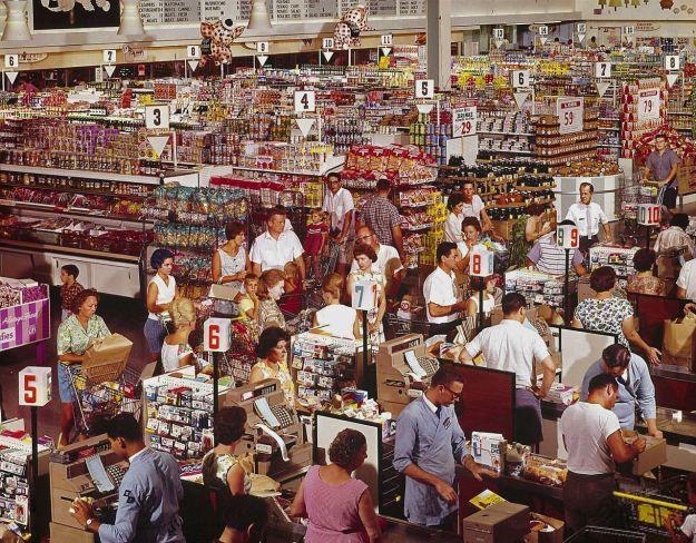 supermercado,1964