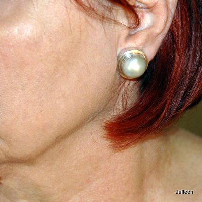 Mabe Pearl Earring Clip On