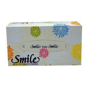 Smile Facial Tissues - 1x150