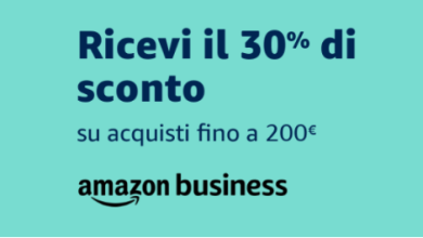 Photo of Offerta Prime Day per Amazon Business: 30% di sconto fino a 200 Euro
