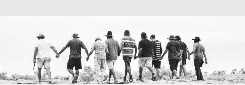 our story - blokes walking hand in hand