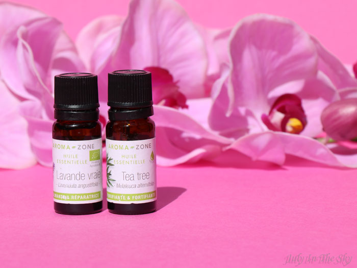 blog beauté guerre boutons acné imperfections huile essentielle lavande arbre à thé vera avis