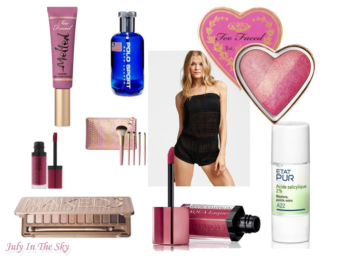 blog beauté wishlist mars melted too faced blush absolute essentials naked 3 urban decay edition velvet bourjois aqua laque