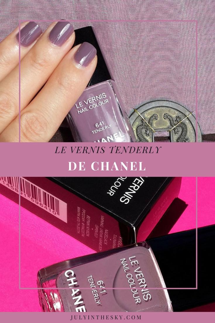 blog beauté test vernis chanel tenderly rêverie parisienne avis