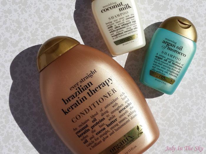 blog beauté haul dom tom shampoings soins cheveux organix avis
