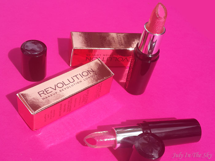 blog beauté haul makeup revolution happylips avis
