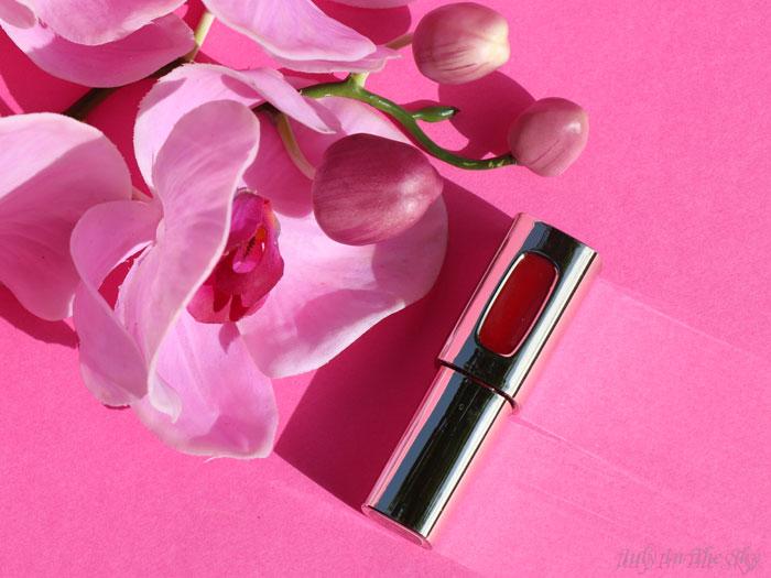 blog beauté laque lèvres rouge color riche extraordinaire l'oréal avis