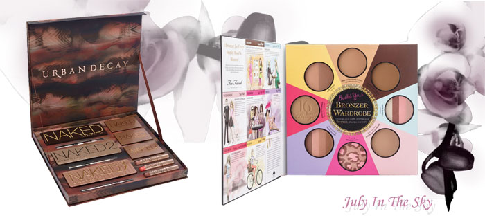 blog beauté objet collection édition limitée naked vault urban decay little black book of bronzers too faced avis swatch