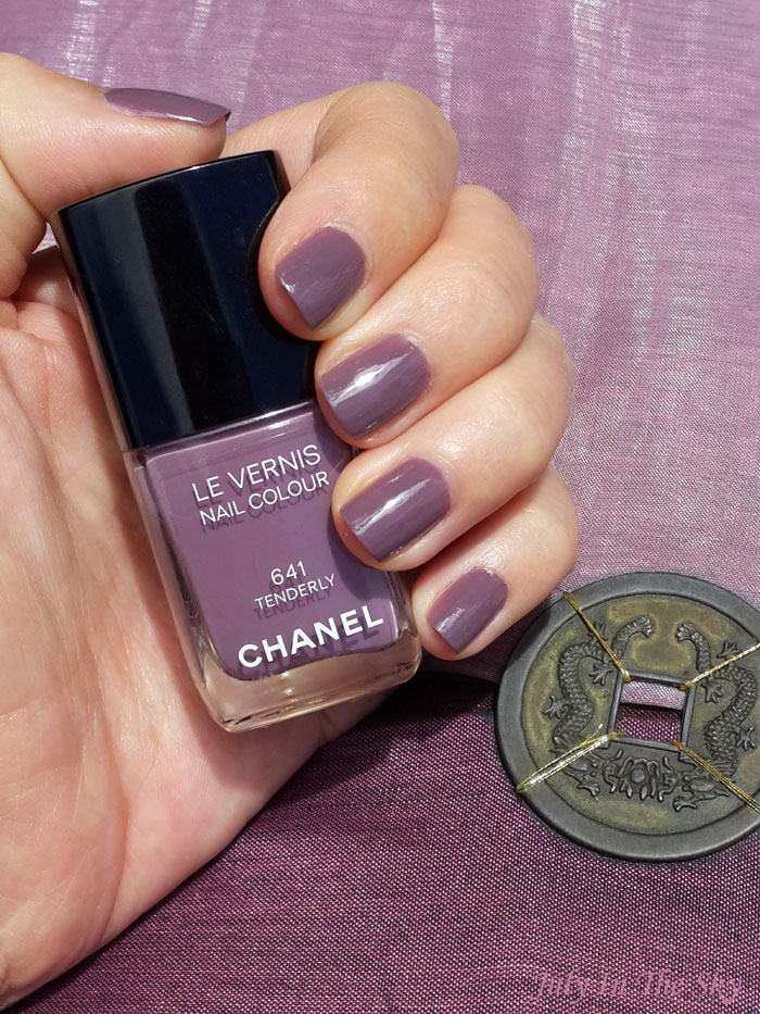 blog beauté test vernis chanel tenderly rêverie parisienne avis