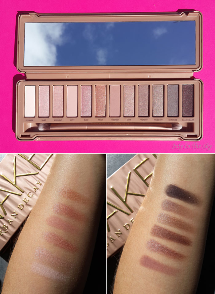 blog beauté test naked 3 urban decay avis swatch
