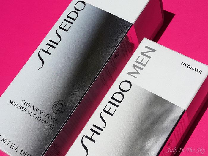 blog beauté homme shiseido men fluide hydratant mousse nettoyante avis
