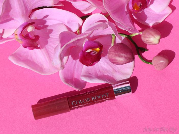 blog beauté rouge lèvres color boost bourjois avis plum russian