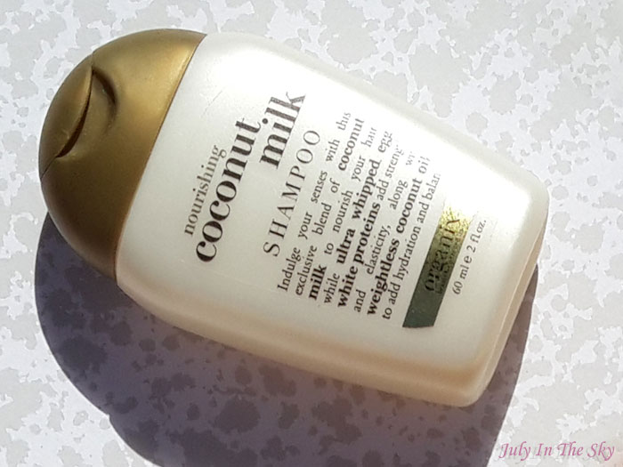 blog beauté organix shampooing conditionneur serum coconut milk avis