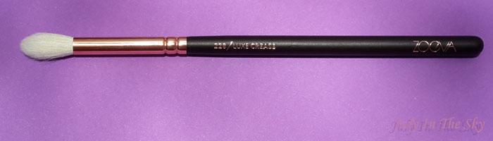 blog beauté avis pinceaux rose golden complete eye set zoeva the beautyst avis test 228 luxe crease