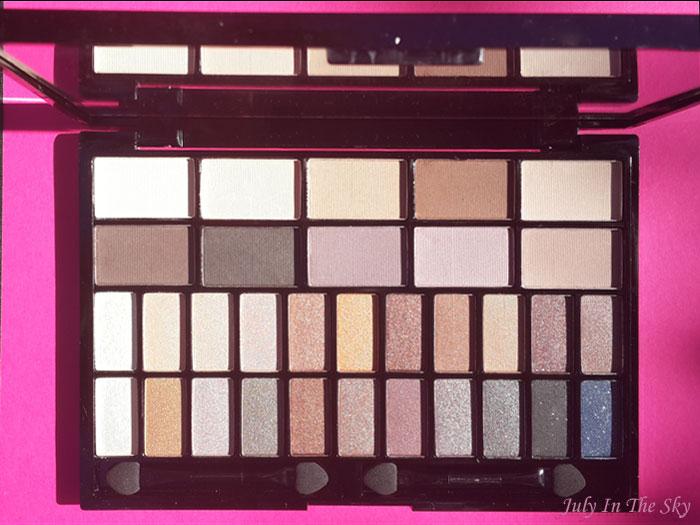 blog beauté make up day makeup revolution palette you're gorgeous