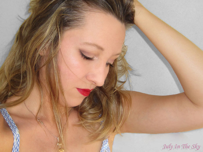 blog beauté make up day makeup revolution lip lava palette you're gorgeous