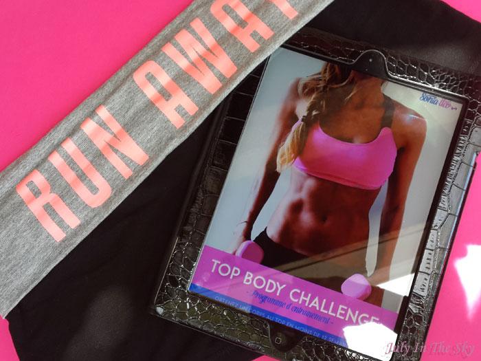 blog beauté humeurs top body challenge programme entrainement nutrition sport régime avis