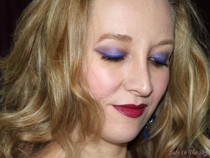 blog beauté avis vernis lèvres pop water yves saint laurent steamy violet 210 test