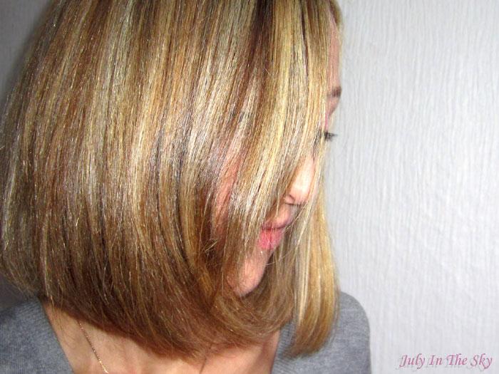 blog beauté cheveux lissage brésilien test avis