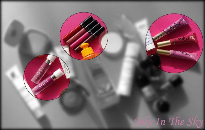 blog beauté favoris juillet août 2015 Melted Too Faced Dose Of Colors Rouges Velouté Sans Transfert Sephora avis test