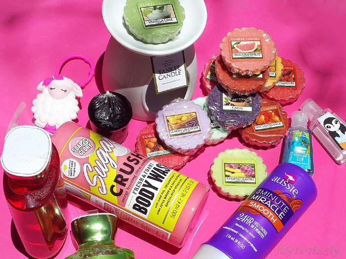 Haul V-inc : Yankee Candle, Soap and Glory, Bath & Body Works, Webeez, Aussie…