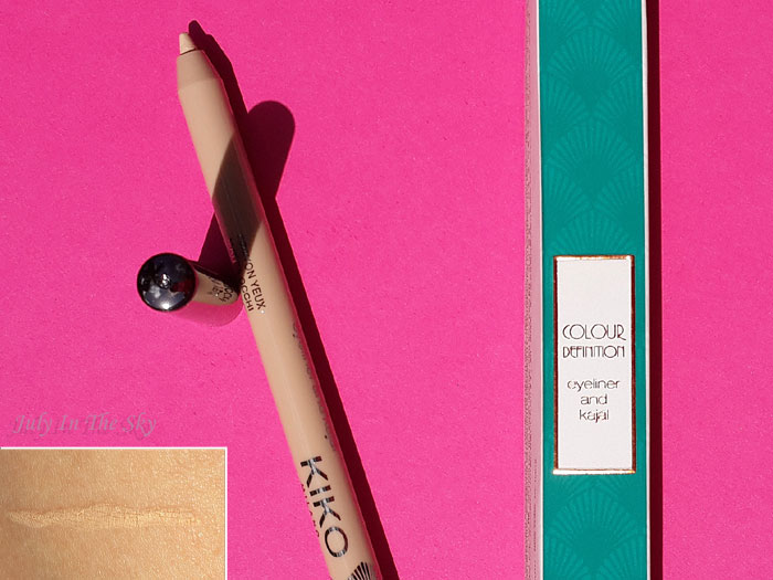 blog beauté kiko collection rebel romantic colour definition eyeliner and kajal avis test swatch
