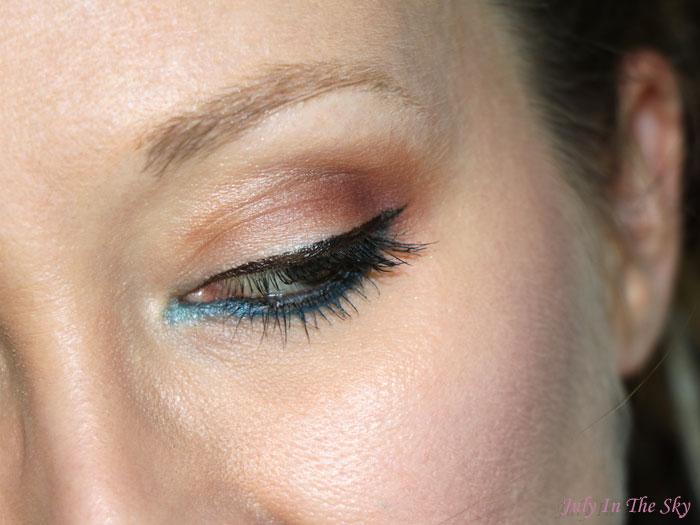 blog beauté make-up été blue blue lagon kiko
