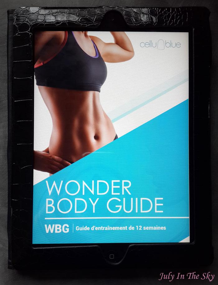 blog beauté health top body challenge sonia tlev fitness santé avis test comparatif wonder body guide pack cellublue reduction