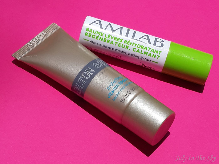 blog beaute baume à lèvres protecting vitamin molton brown amilab test avis swatch