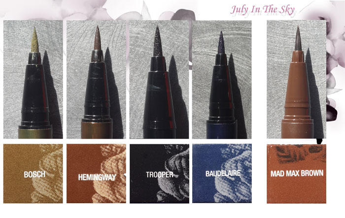 blog beauté kat von d avis test ink liner swatch tattoo liner
