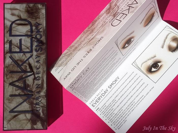 blog beauté naked smoky urban decay revue test avis swatch