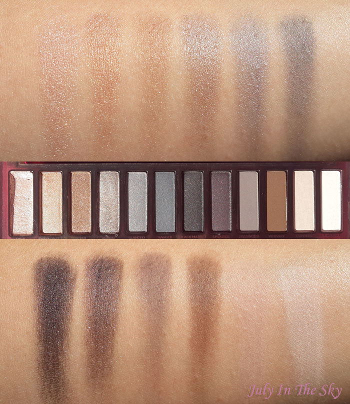 blog beauté naked smoky urban decay revue test avis swatch
