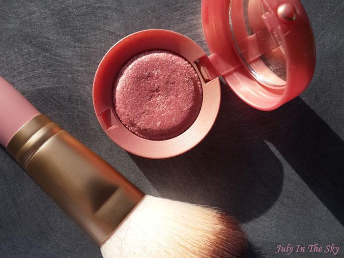 blog beauté tag de l'impossible blush prefere boite ronde bourjois lilas d'or