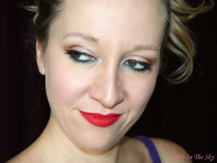 blog beauté studded kiss lipstick kat von d avis test swatch underage red