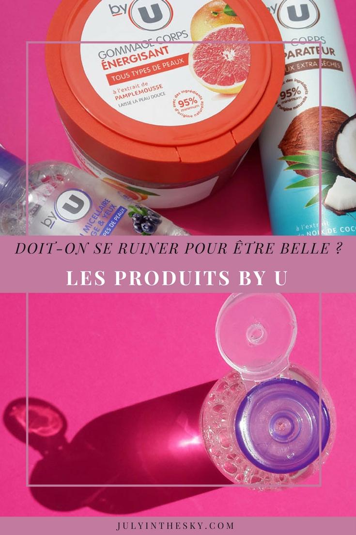 blog beauté avis test by u