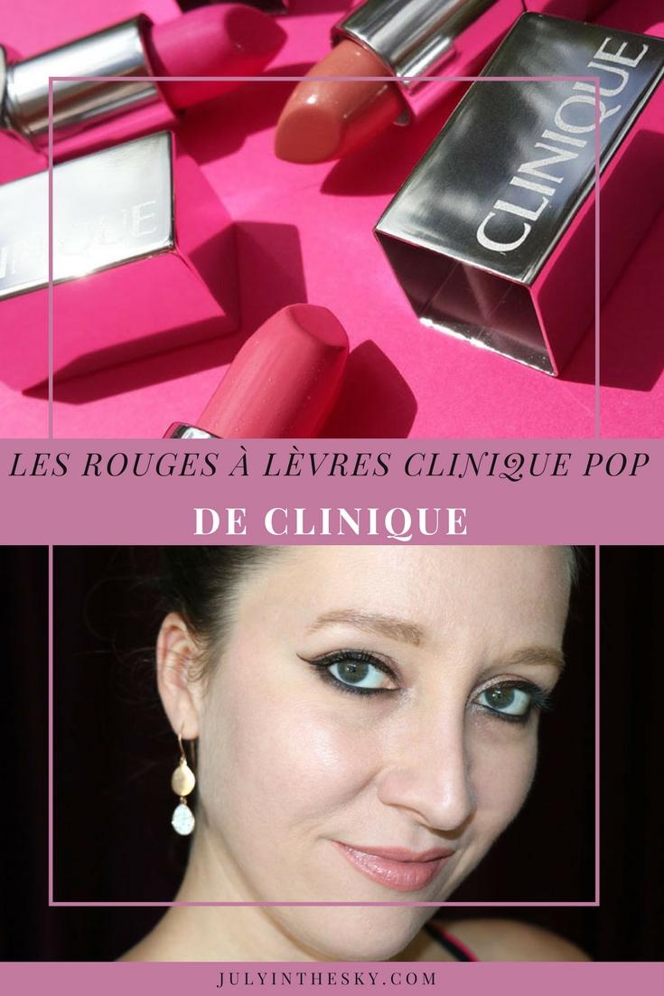 blog beauté rouges à lèvres clinique pop wow sweet nude test avis swatch