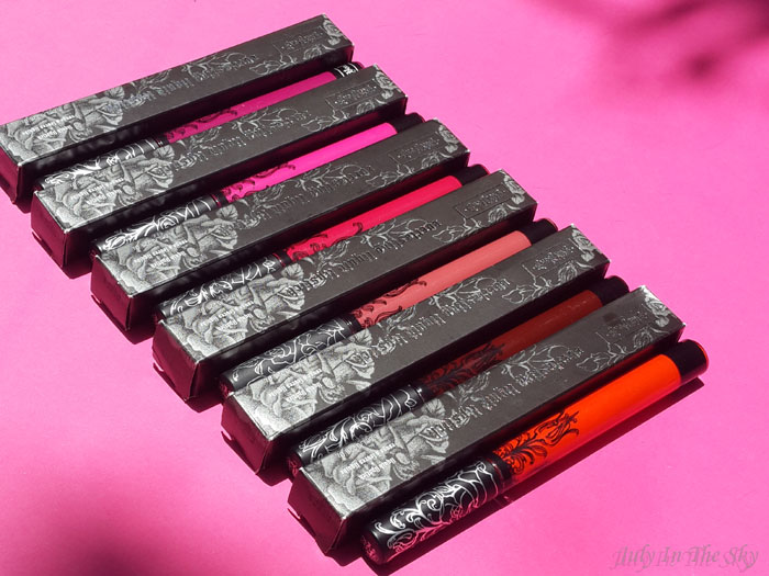blog beauté kat von d everlasting liquid lipstick avis test swatch