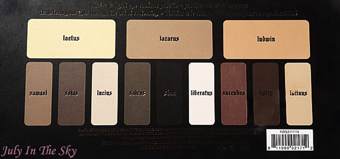 blog beauté kat von d palette shade + light eye contour avis test