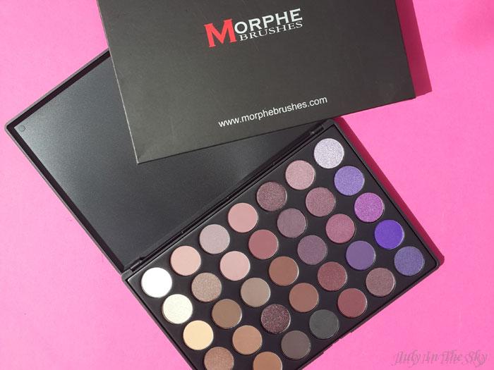 blog beauté morphe brushes passion plum 35p palette avis test