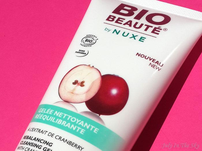blog beauté bio beaute by nuxe avis test gelee nettoyante reequilibrante