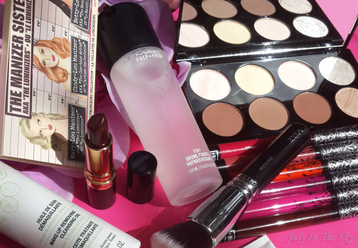 blog beauté favoris décembre 2015 caudalie the balm zoeva mac revlon lancôme st ives makeup revolution Kat Von D mac anastasia beverly hills
