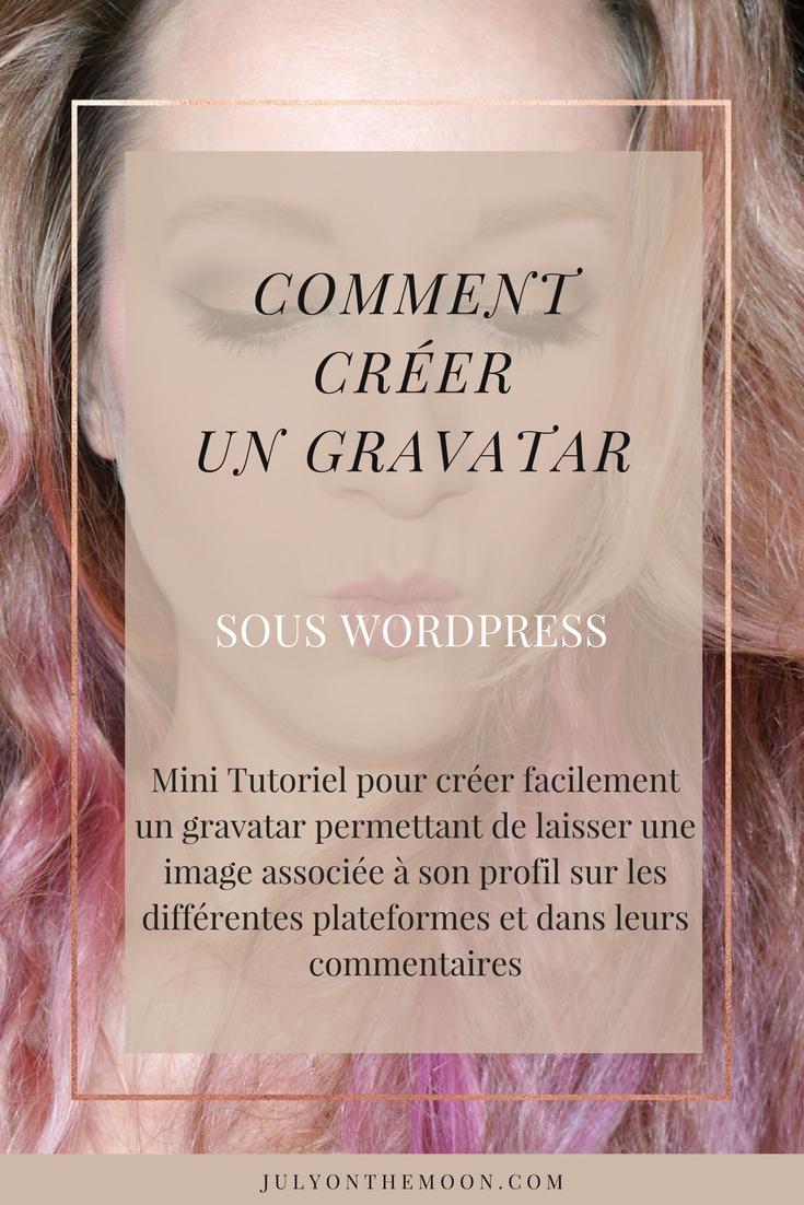 blog webdesign tutoriel comment créer gravatar