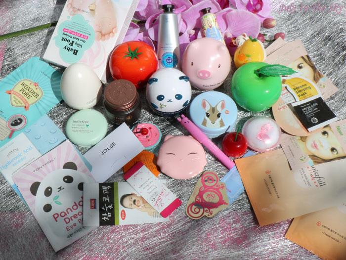 Mon coup de cœur pour les cosmétiques asiatiques : Haul Jolse