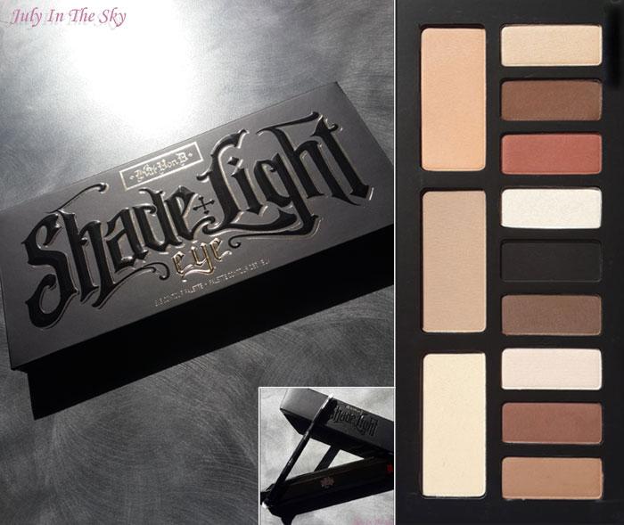 blog beauté kat von d france shade light eye contour palette swatch