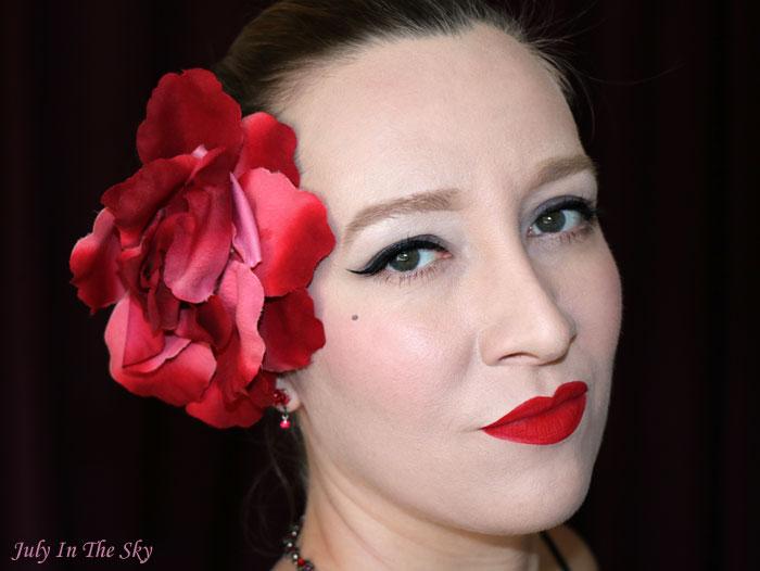 blog beauté make up saint valentin dita von teese